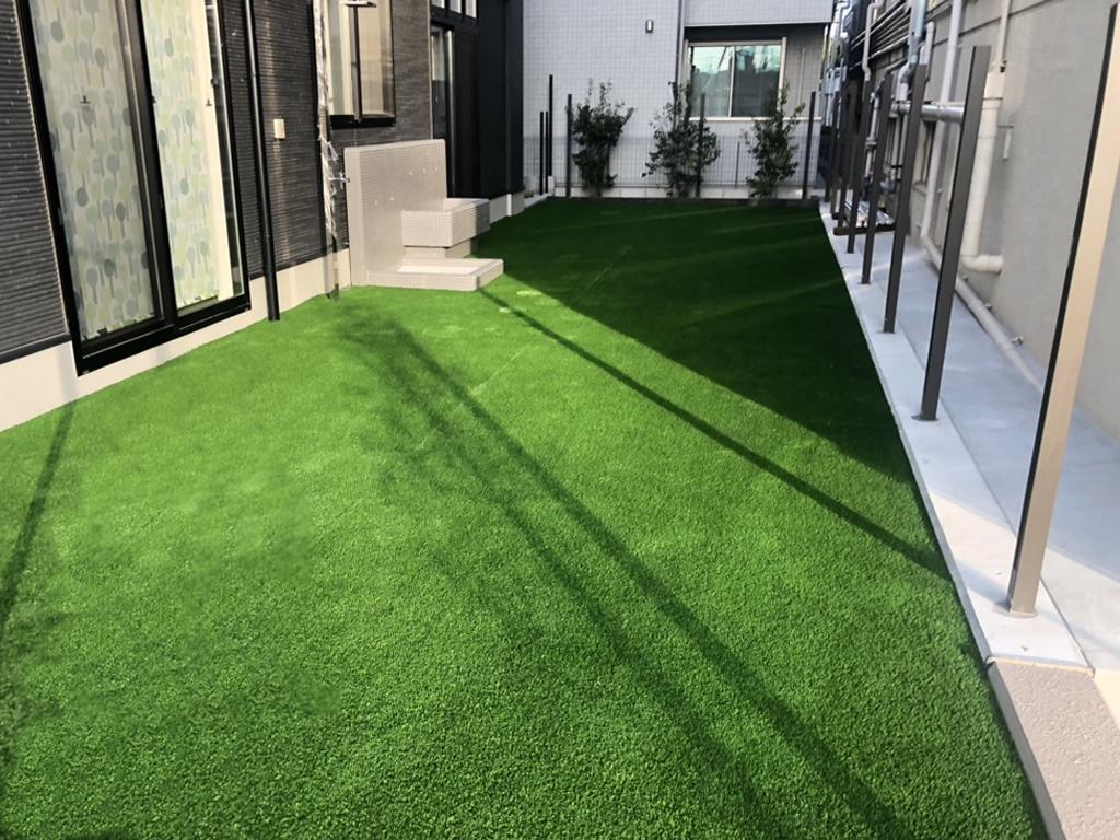 保育園園庭人工芝